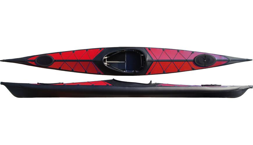 nortik argo - Barca - rojo/negro